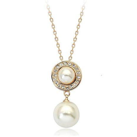 Collar de diamantes con incrustaciones de joyería de moda coreana NHLJ193324's discount tags