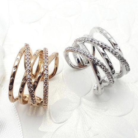 Mode Simple Femmes Diamant Croix Bague Populaire Bijoux En Gros NHLJ193338's discount tags
