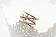 Fashion Simple Womens Diamond Cross Ring Popular Jewelry Wholesale NHLJ193338