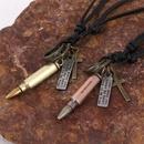Vintage mens leather necklace wholesale wholesale leather jewelry wholesale NHPK193374