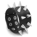 Exaggerated Mens Faux Leather Bracelet Punk Bracelet Jewellery NHPK193376