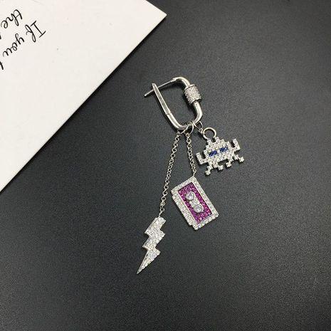 Personalidad de la moda creativa aretes largos con flecos NHWK193421's discount tags