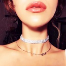 Necklace choker multilayer clavicle chain fashion necklace ladies jewelry NHWK193457