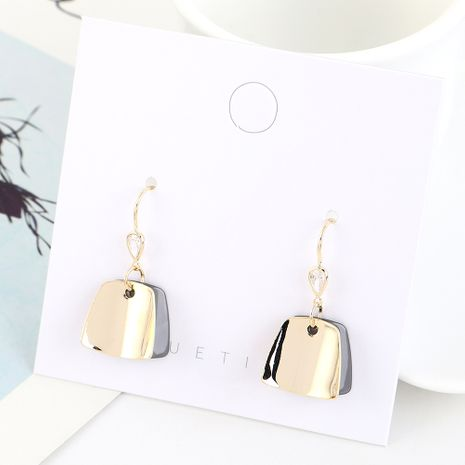 Korean fashion creative wild gold-plated earrings NHPS193500's discount tags