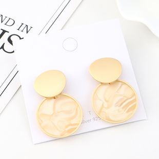 Fashion Gold Plated S925 Silver Earrings NHPS193559's discount tags
