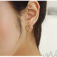Boutique Korean Fashion Sweet Chrysanthemum Love Earrings NHSC193688