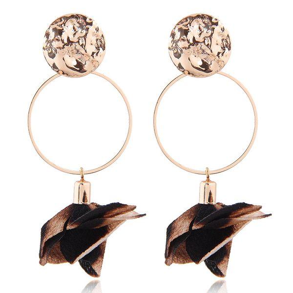 Delicate Korean fashion sweet OL simple flower earrings NHSC193685
