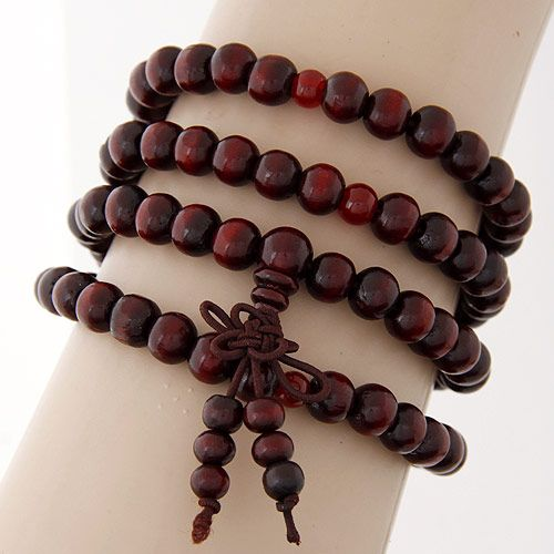 fashion jewelry lucky bead multilayer bracelet (four layers) NHSC193681