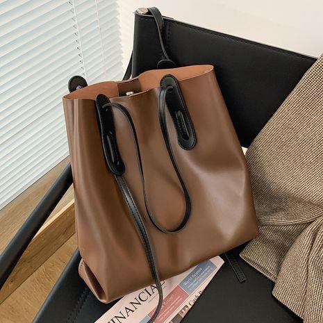 neue trendige Herbsttasche mit großer Kapazität und wilder Wildtasche für Frauen NHLH267373's discount tags