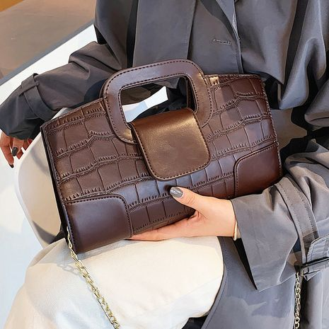 small autumn new trendy fashion all-match messenger portable small square handbags  NHLH267407's discount tags