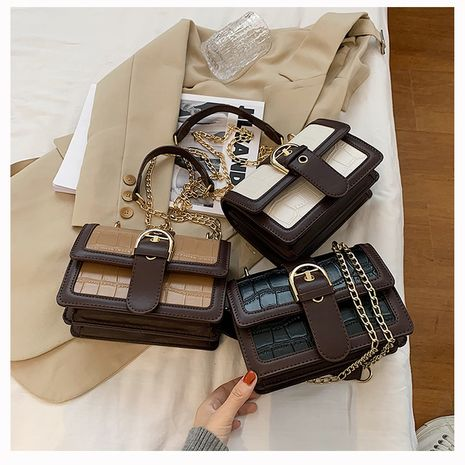 new trendy wild small square thin strap shoulder Messenger bag for women NHLH267418's discount tags