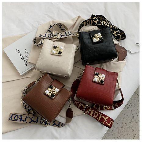 new fashion trendy fashion wild shoulder messenger bucket bag NHLH267427's discount tags