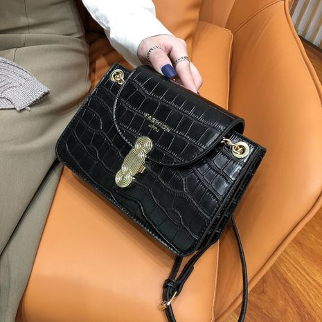 new wave Korean fashion chain messenger wild single shoulder small square bag NHLH267439's discount tags
