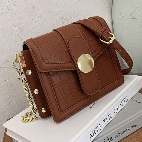 retro small new trendy fashion all-match chain messenger small square bag NHLH267444's discount tags