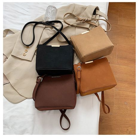 autumn new all-match frosted fashion single shoulder messenger women's bags NHLH267457's discount tags