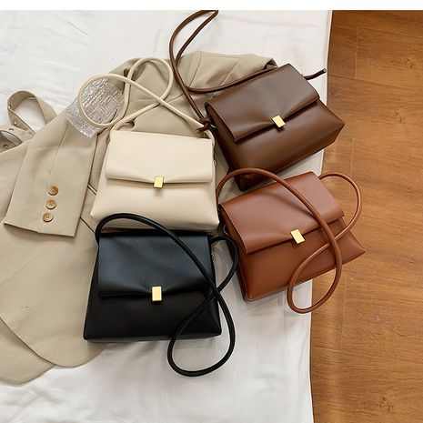 Simple autumn and winter fashion casual all-match messenger small square bag NHLH267468's discount tags