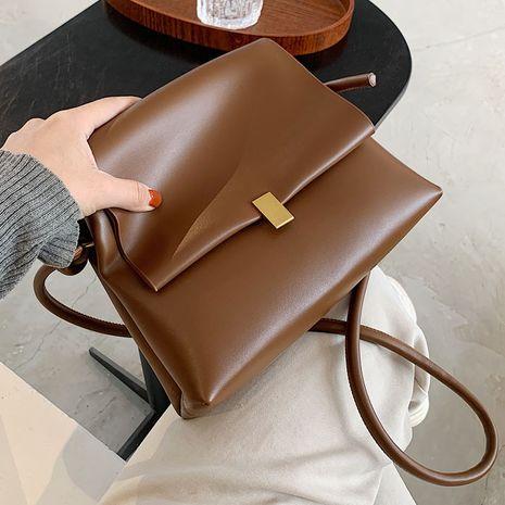 Retro messenger lock single shoulder small square bag NHLH267474's discount tags