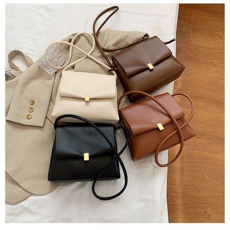Neue trendige einfache Lock Fashion Retro Double Single Shoulder Messenger Bag NHLH267494's discount tags
