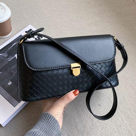 sac à bandoulière tissé baguette sous les bras petit nouveau sac à la mode NHLH267509's discount tags