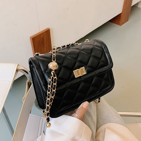 all-match texture fashion small square bag NHJZ267529's discount tags