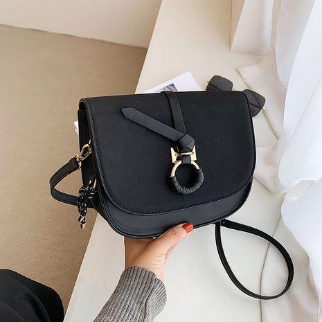 fashion single shoulder messenger saddle bag NHJZ267537's discount tags