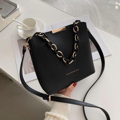 portable bucket shoulder messenger bag   NHJZ267551's discount tags