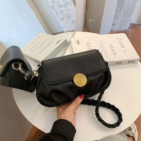 trendy fashion wild one-shoulder messenger retro bag NHJZ267557's discount tags