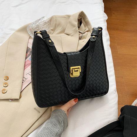 ladies one-shoulder fashion retro all-match handbag NHJZ267561's discount tags
