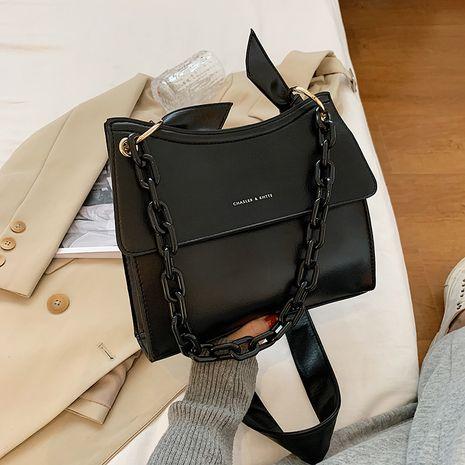 single shoulder wide shoulder strap fashionable casual bag NHJZ267562's discount tags
