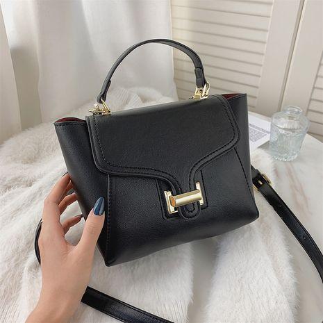 color all-match ladies portable texture single shoulder messenger bag NHJZ267565's discount tags