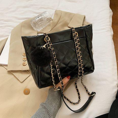 bolso de mujer grande de rombo de ocio NHJZ267578's discount tags