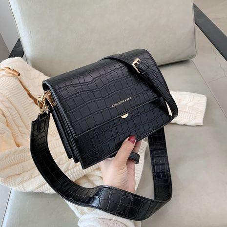 Fashion all-match texture shoulder bag NHJZ267587's discount tags