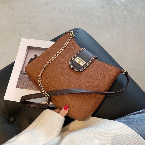 bolso de mensajero simple de un solo hombro de la nueva moda retro NHTC267592's discount tags