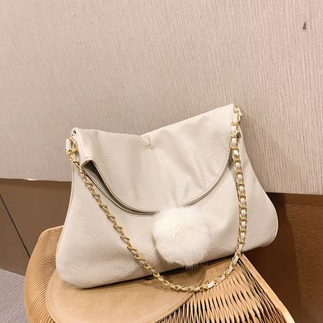 Autumn new large-capacity women's new trendy fashion one-shoulder chain bag NHTC267604's discount tags