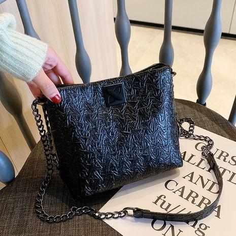 new autumn Korean texture messenger fashion chain tote bag NHTC267624's discount tags