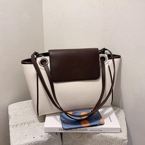 Autumn new trendy fashion portable shoulder underarm Korean large-capacity women's tote bag NHTC267655's discount tags