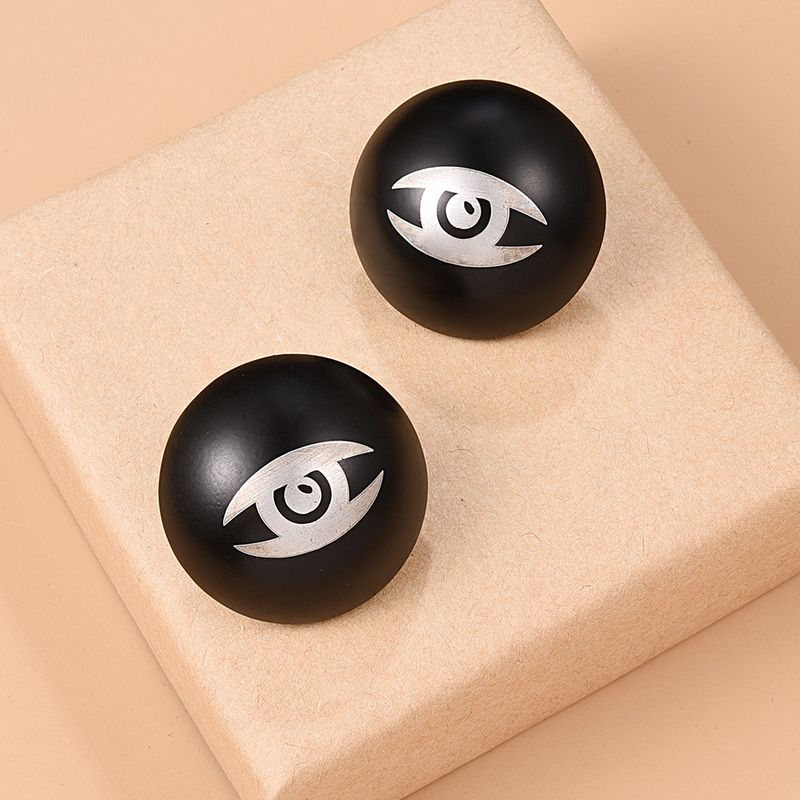 Indian abstract retro fashion earrings NHMD267738