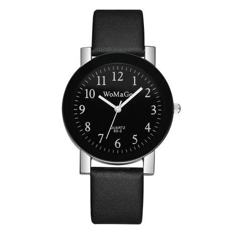 Reloj con correa de cuarzo de cara digital de estilo universitario simple de moda de dial grande coreano NHSS267763's discount tags