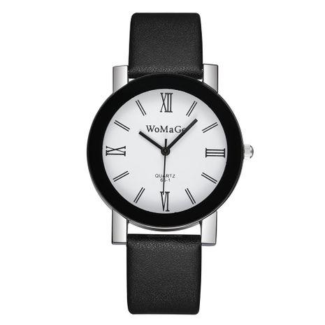 Reloj coreano con correa de cuarzo de escala romana simple de moda con esfera grande NHSS267764's discount tags