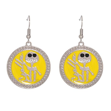 creative fashion Halloween skull alloy earrings  NHJJ267798's discount tags