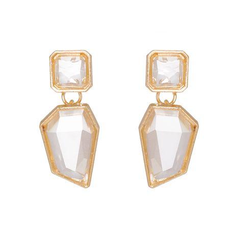 Mini pendientes coreanos de acrílico geométrico retro de moda NHJJ267810's discount tags