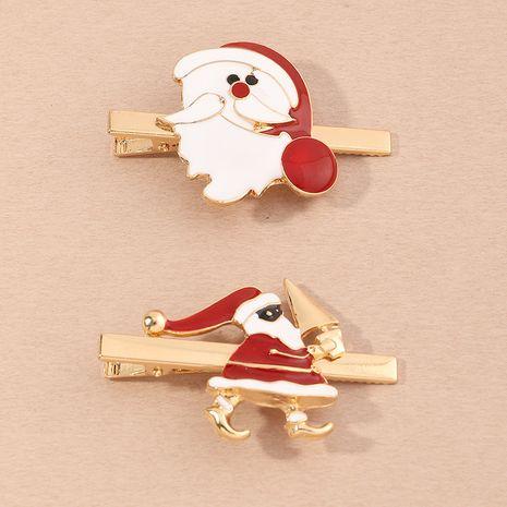 Pince à cheveux coréenne en épingle à cheveux en bois de Noël NHAU267989's discount tags