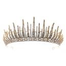 corona de reina retro corona de boda de diamantes de imitacin de aleacin NHHS267998