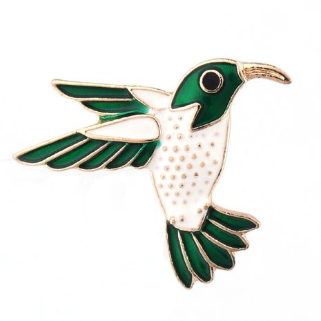 Korea's new alloy dripping oil bird brooch  NHGO268083's discount tags