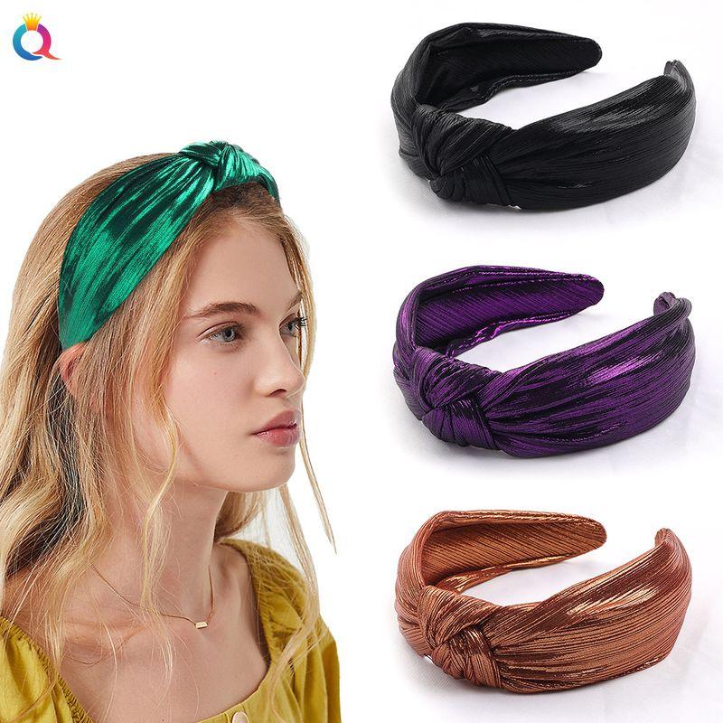 new retro gold wire mesh  korean fashion headband NHDM268208