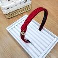 NHUX1174592-Burgundy-yarn-knotted-beauty-head-style