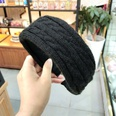 NHUX1174631-Black-twist-wool-flat-headband