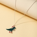 Christmas jewelry trendy animal necklace NHQJ268254