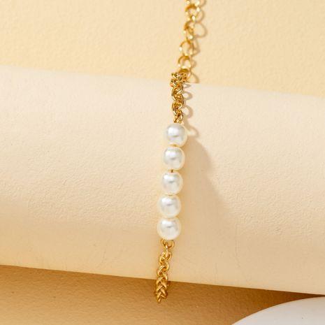 bracelet VOTE simple et tendance en métal perlé NHQJ268270's discount tags
