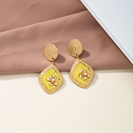 hot selling popular round pendant earrings wholesale NHQJ268298's discount tags